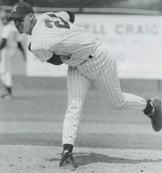 Eric Milton on the mound for the Terps