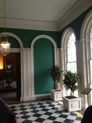 Rosalie Calvert's conservatory with lemon trees