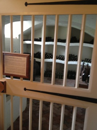Riversdale wine cellar