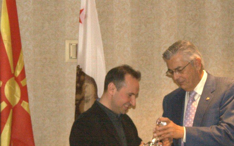 UMD Inaugurates Los Angeles Operations and Awards World-Acclaimed Pianist Simon Trpceski