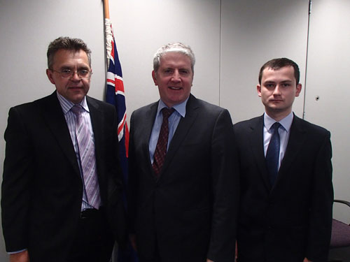 UMD Meets New Australian Immigration and Citizenship Minister, Hon Brendan O'Connor MP