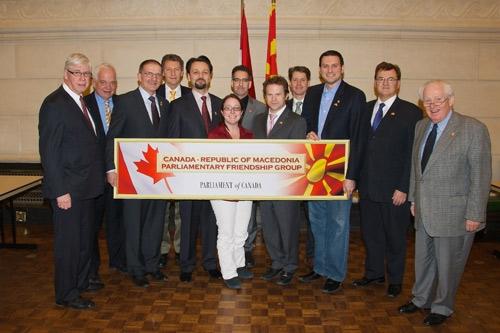 UMD Celebrates Re-establishment of Canada-Macedonia Parliamentary Friendship Group