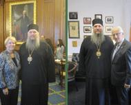 Metropolitan Metodi Meets with Congresswoman Miller and Congressman Pascrell