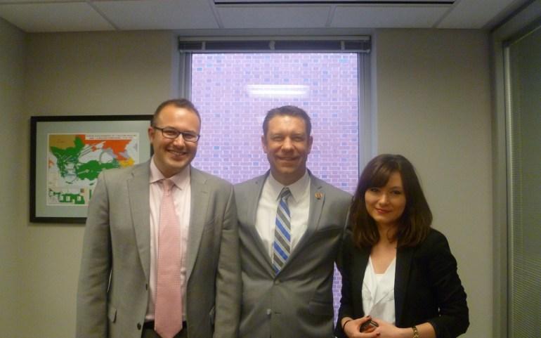 Конгресменот Радел, член на комитетот за надворешни работи, се приклучи на групата на пријатели на Македонија