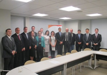 Former Macedonian First Lady and Prime Minister, current MPs Visit UMD Headquarters