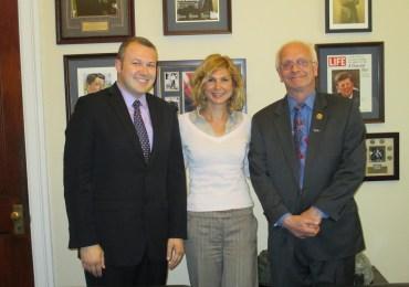 UMD Met Congressman Bentivolio of Michigan to Discuss U.S.-Macedonia Relations
