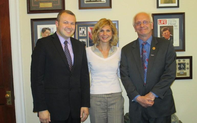 ОМД се сретна со конгресман Бентиволио за односите помеѓу САД и Македонија