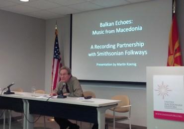 UMD Hosts Discussion with Balkan Echoes' Martin Koenig
