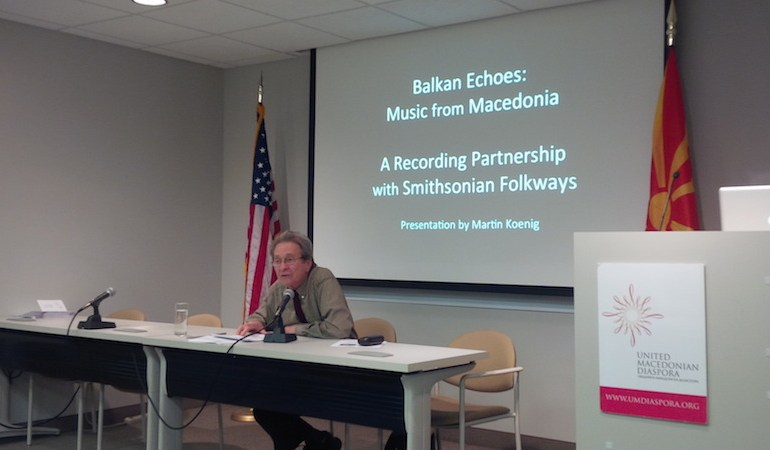 UMD Hosts Discussion with Balkan Echoes' Martin Koenig