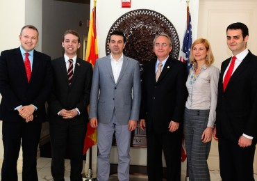 UMD Reiterates Support for Macedonia's Euro-Atlantic Path