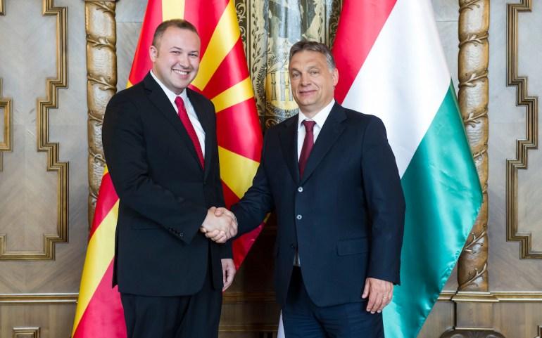 Според Виктор Орбан треба да започнат преговорите со Македонија за членството во ЕУ и НАТО