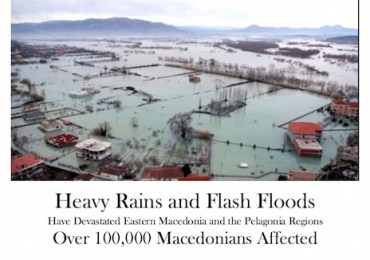 100,000 Affected: Help Needed for Macedonia Flood Relief Efforts