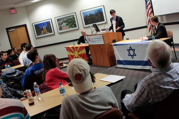 Israel-Macedonia's 20th Anniversary of Relations Marked at OSU