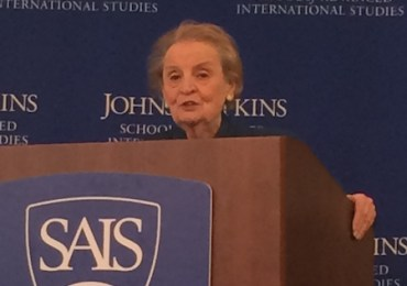 Madeleine Albright Agrees With Us