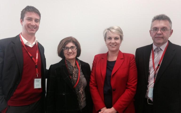 ОМД се сретна со заменик-лидер на опозицијата во Австралија
