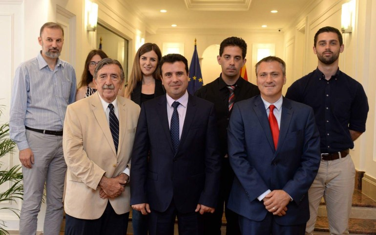 UMD Meets with Macedonian Prime Minister Zoran Zaev