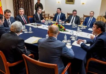 Реакција на ОМД по средбата на државниот врв во Скопје