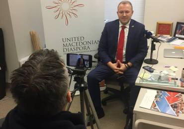 UMD President Interviewed by Greek Television