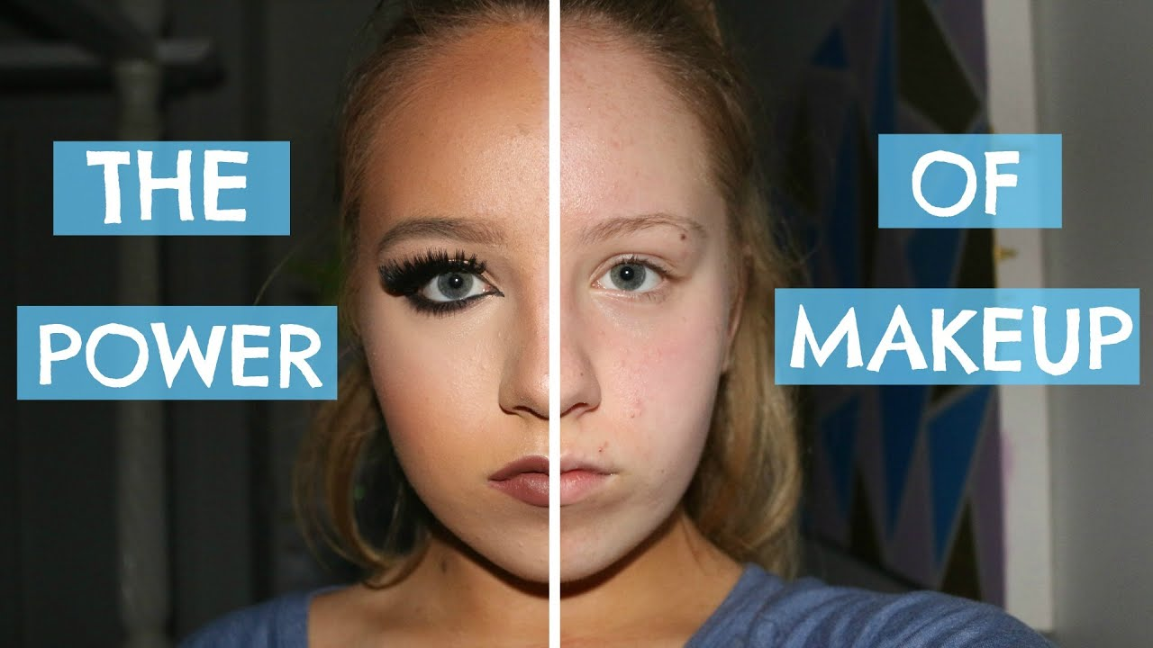Too much makeup on dating sites