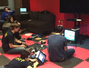 Video games provide a mental break for hackers. Laura Spitalniak/Mitzpeh.