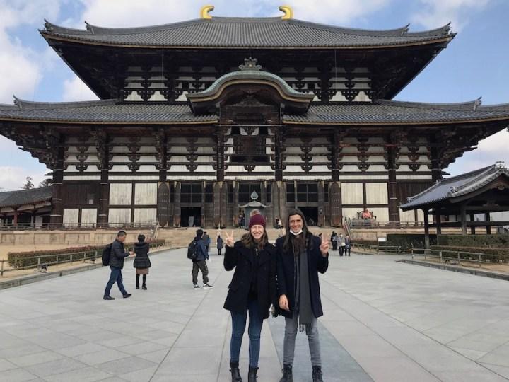 Templo Todai-ji em Nara - Japão.