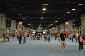 """The Walter E. Washington Convention Center was expected to see about 100,000 visitors for the 16th annual National Book Festival Saturday, Sept. 24, 2016. The Lower Level (pictured) featured book signings, book sales, daytime activities sponsored by The Washington Post, a """"Pavilion of the States Exhibit"""" and much more. (Jordan Stovka/Bloc Reporter)"""