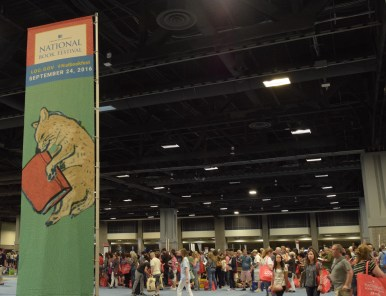 The Library of Congress hopes to promote the importance of books and support the love of reading with the 16th annual National Book Festival Saturday Sept. 24 2016. According to the festival's welcome video, the event expected over 100,000 visitors. (Jordan Stovka/Bloc Reporter)