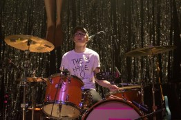 Drummer Whistler Allen of Hippo Campus as they open for Saint Motel at 9:30 Club. (Cassie Osvatics/Bloc Photographer)