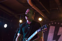 Vocalist and guitarist of The Shelters, Josh Jove, peforms at U Street Music Hall on the Alt Nation Advanced Placement Tour. (Cassie Osvatics/Bloc Reporter)