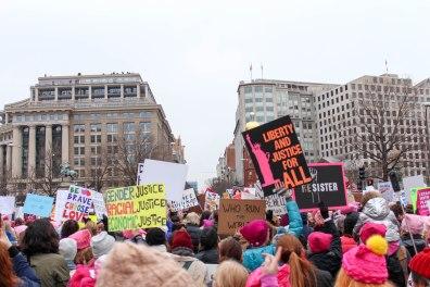 The march shut down multiple D.C. streets. (Katrina Schmidt/Bloc Reporter)