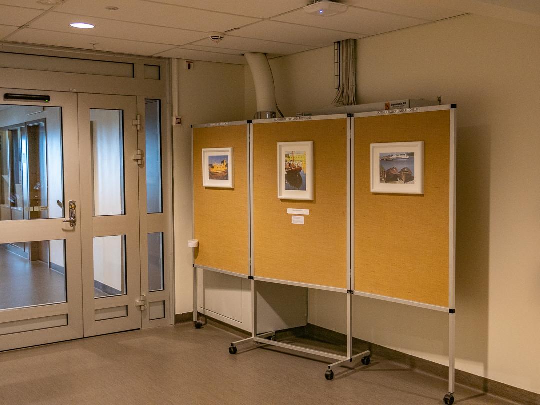 Sjukhusets Bildskärm flyttad