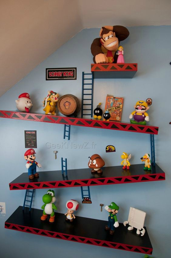A cold storage room is a great place to store fresh fruit and vegetables so that they keep for longer. 21 Truly Awesome Video Game Room Ideas - U me and the kids