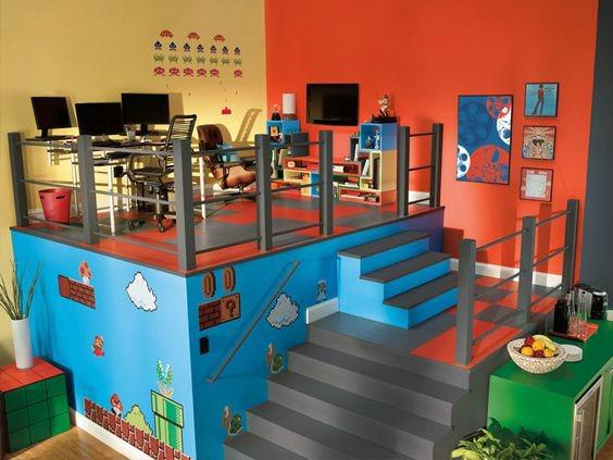 Nintendo Game Room Ideas Novocom Top