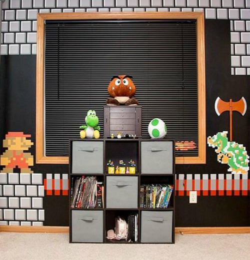 21 truly awesome video game room ideas u me and the kids - Kids game room ideas ...