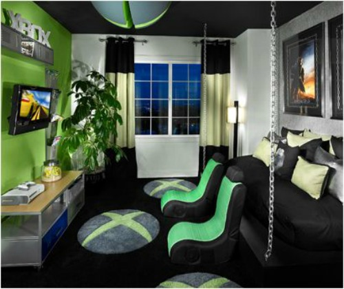 Game Room: 21 Truly Awesome Video Game Room Ideas