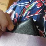 浴衣のときに持ち歩く財布は、abrAsus(アブラサス)薄い財布がベスト