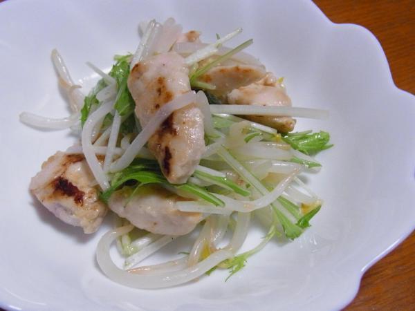 鶏の塩麹炒め