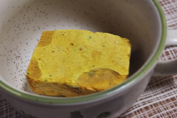 かぼちゃとマッシュルームの豆乳ポタージュ
