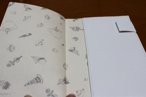 ムーミン手帳 ペンホルダー