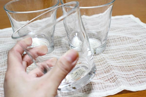 無印良品 グラス