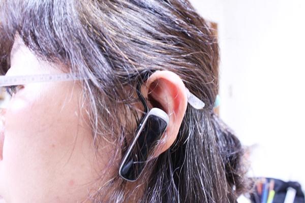 Jabra MINI ブラック ワイヤレス Bluetooth イヤホン ヘッドセット 眼鏡