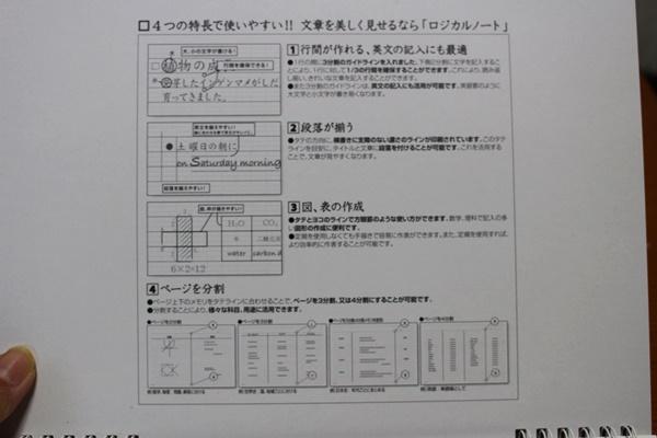 ナカバヤシ スイング ロジカル Wリング・セクションノート
