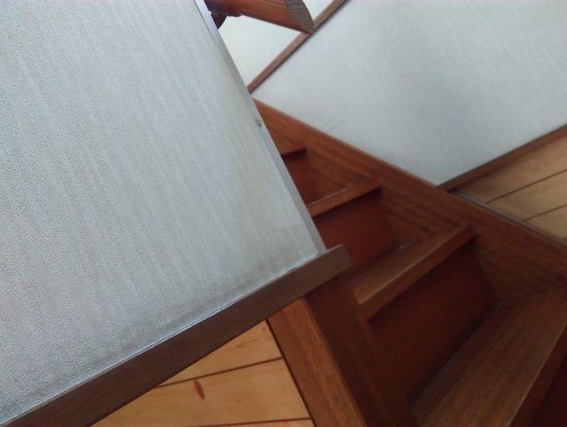 我が家に階段