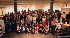 Startup Weekend Seattle 2013 group photo