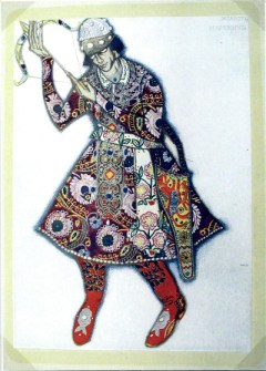 """Tsarevich"" by Leon Bakst"