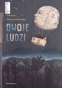 """Cover of """"Dwoje Ludzi"""" by Iwona Chmielewska"""