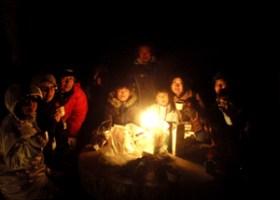 沖ノ島ナイトハイク 2014年1月31日