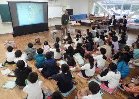 館山小学校で海のお話
