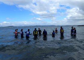 沖ノ島スノーケリング体験のお客さまの声 2015年度
