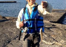 ちょい投げ五目釣りと天ぷら体験会 2015年11月14日